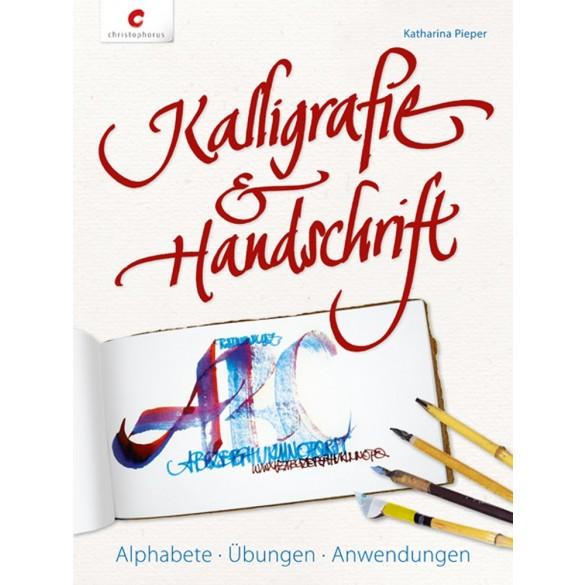 Christophorus Handlettering Buch Kalligrafie Handschrift