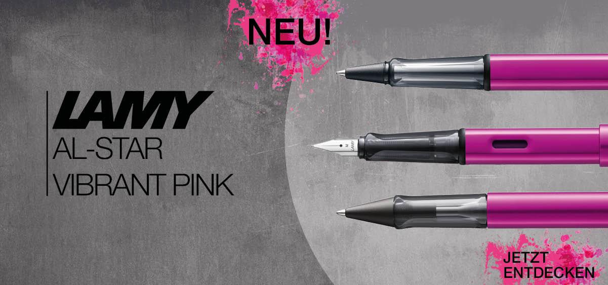 LAMY AL-star vibrant pink | Füller Kugelschreiber Rollerball