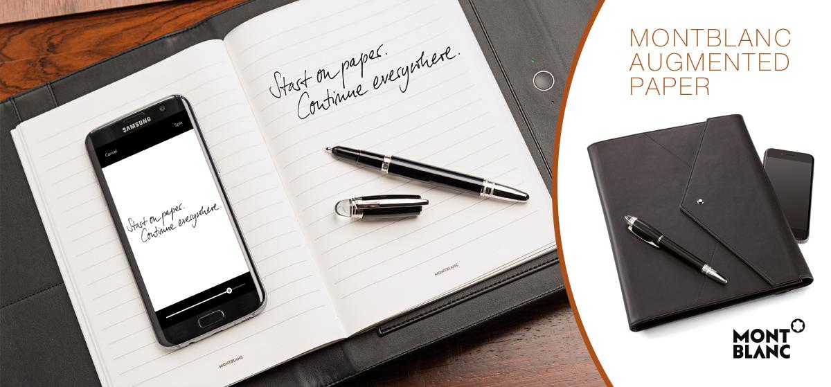 Montblanc Augmented Paper Notizbuch mit Stift
