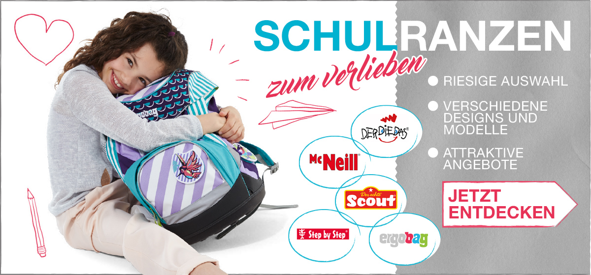 Schulranzen-Kollektion 2017