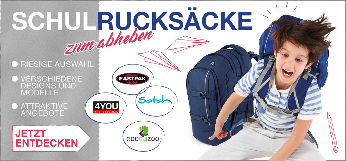 Schulrucksack-Kollektion 2017