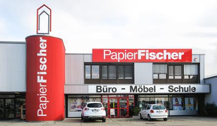 Schreibwaren Büroeinrichtung Bürobedarf Papierfischer Offenburg